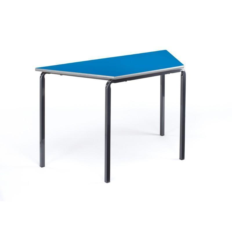 classroom tables MDF Trapezoidal Welded Frame Classroom Tables MDF