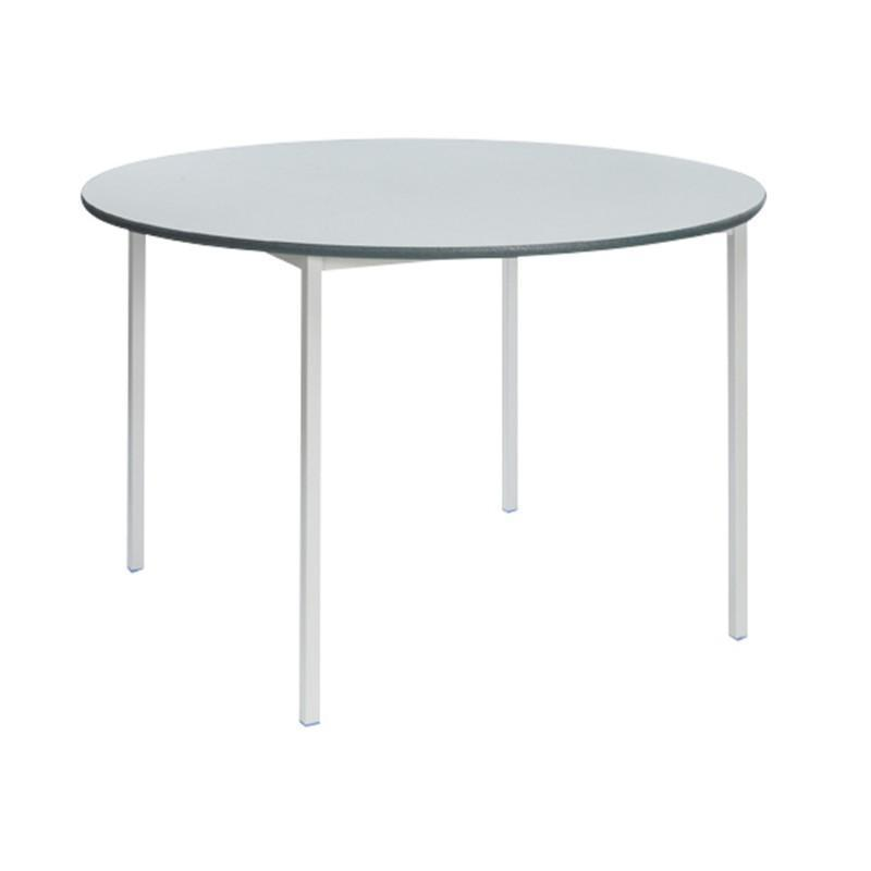classroom tables MDF Whiteboard Top Circular Welded Frame Classroom Tables MDF