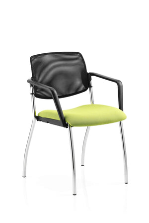 conference chair 4 Leg / Arms Jewel Mesh Chair 4 Leg / Arms