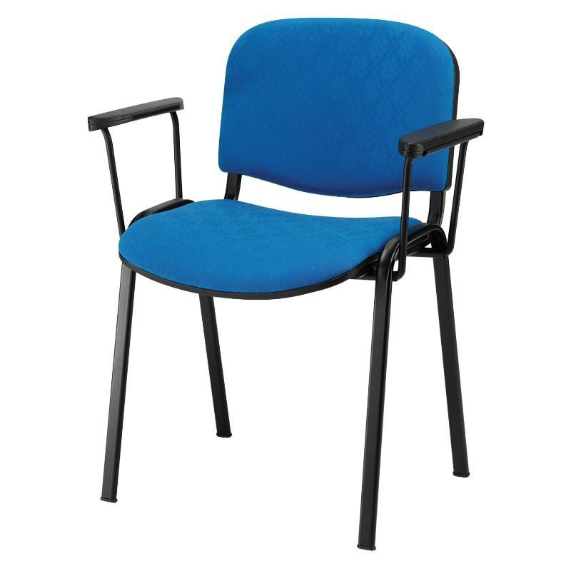 conference chair 4 Leg Chair w/PU Arms / Black Trail Chair 4 Leg Chair w/PU Arms / Black