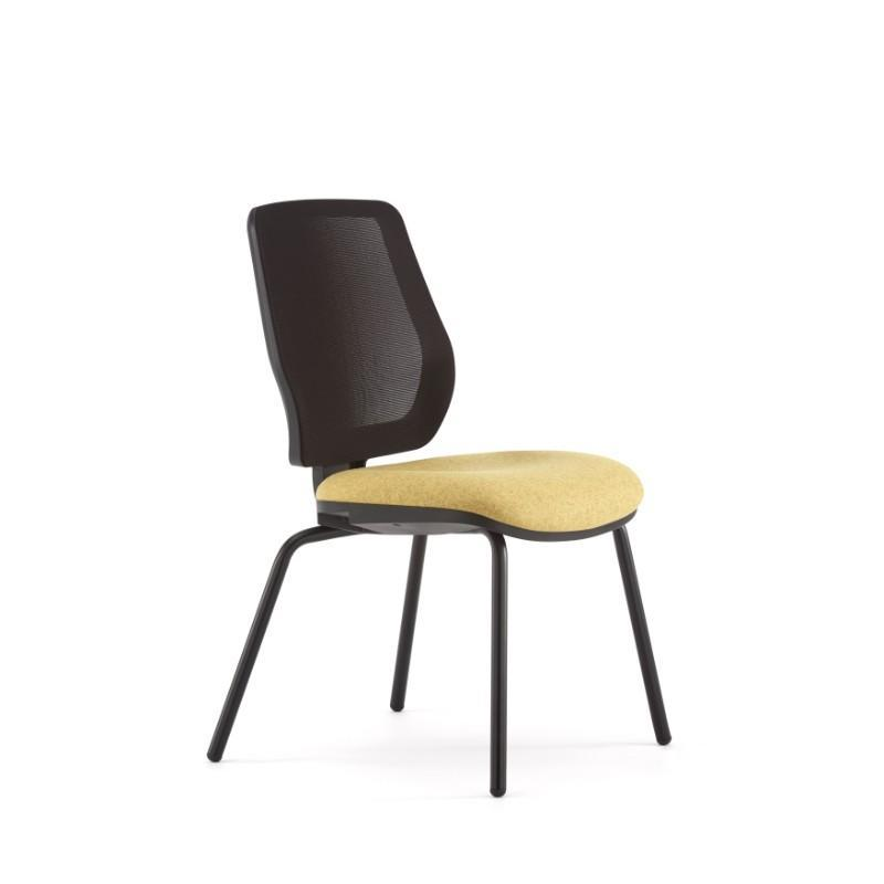 conference chair Black Plastic back surround / No Arms Echo Conference Chair Black Plastic back surround / No Arms