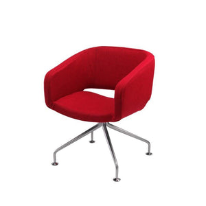conference chair Spider Base Amparo Visitor Chair Spider Base