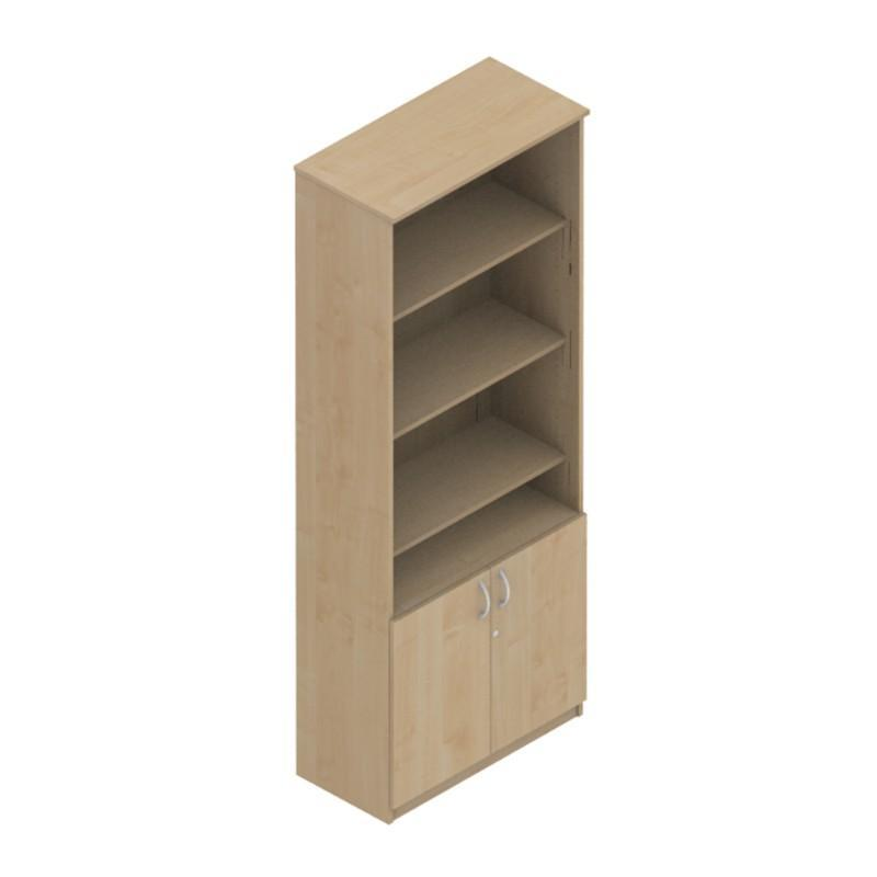 cupboard 1687mm Colorado Combi-Stor Units, Low Double Door 1687mm