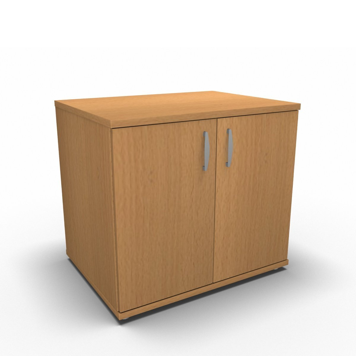 Cupboard 800 x 600 x 730mm / Beech Synergy Desk High Cupboard