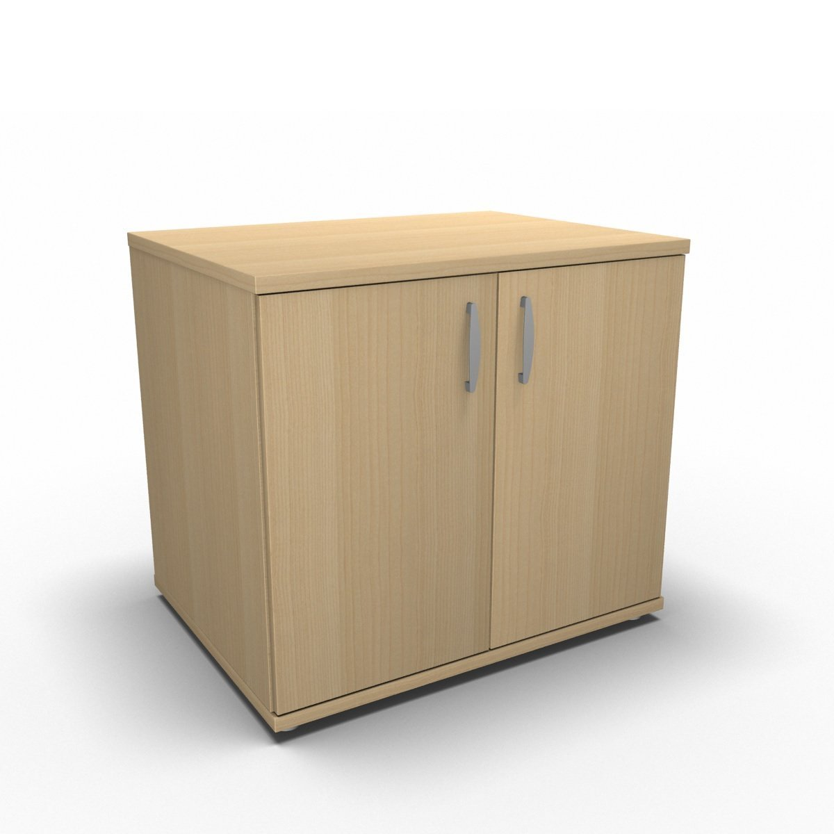 Cupboard 800 x 600 x 730mm / Maple Synergy Desk High Cupboard