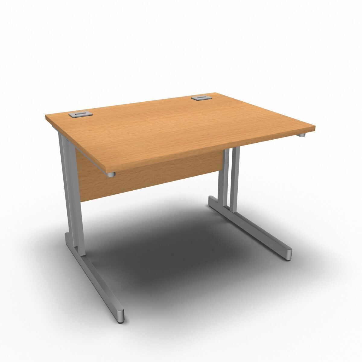 Desk 1000 x 800mm / Beech Synergy Straight Desks