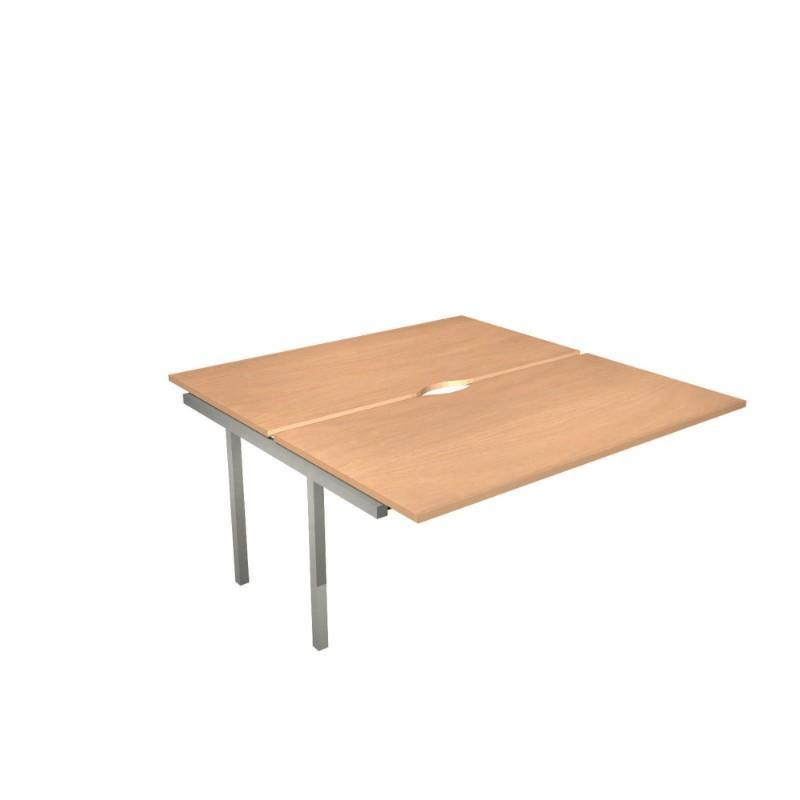 desk 1200 Nova Extension For Square Bench Desk 1200