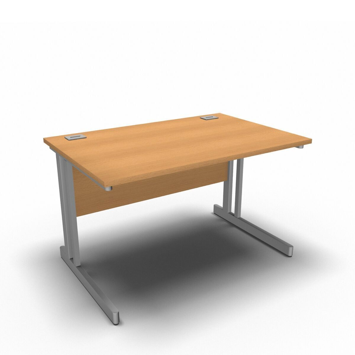 Desk 1200 x 800mm / Beech Synergy Straight Desks