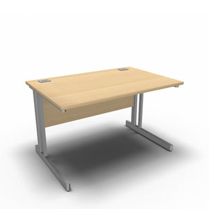 Desk 1200 x 800mm / Maple Synergy Straight Desks