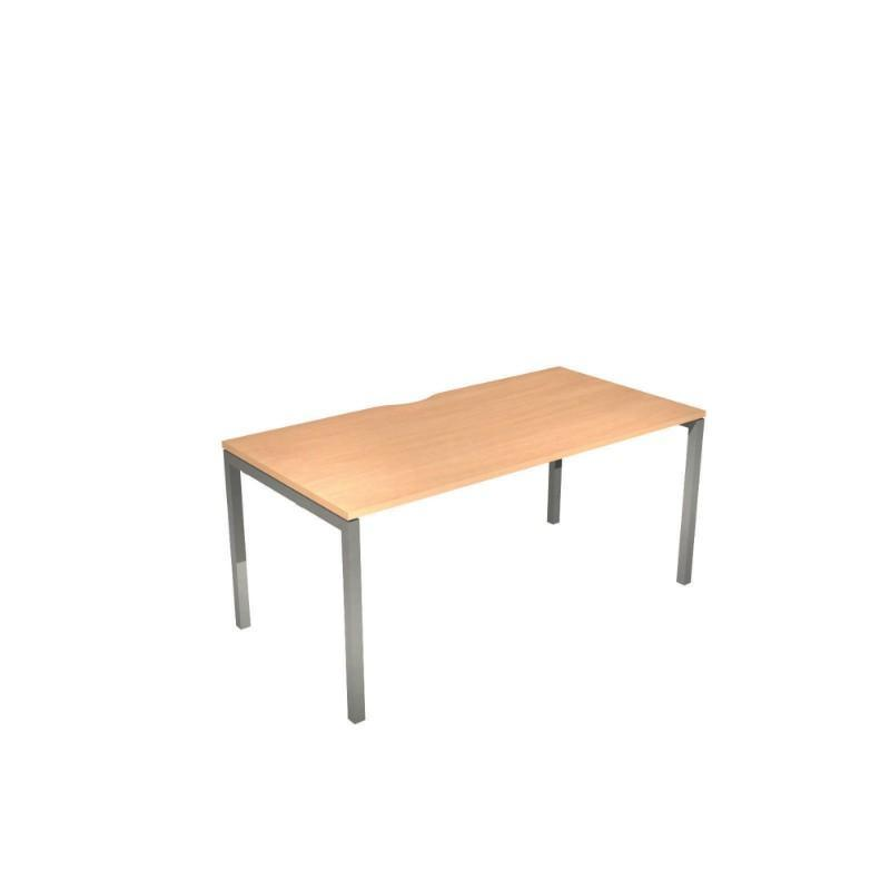 Nova Desk with Scoop Back