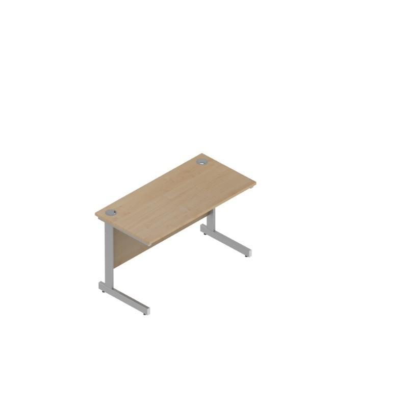 desk 1600 / Cantilever Colorado Rectangular Desks 600mm Deep 1600 / Cantilever