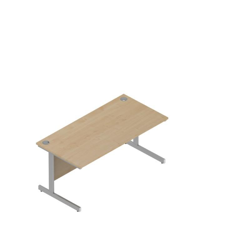 desk 1600 / Cantilever Colorado Rectangular Desks 800mm Deep 1600 / Cantilever