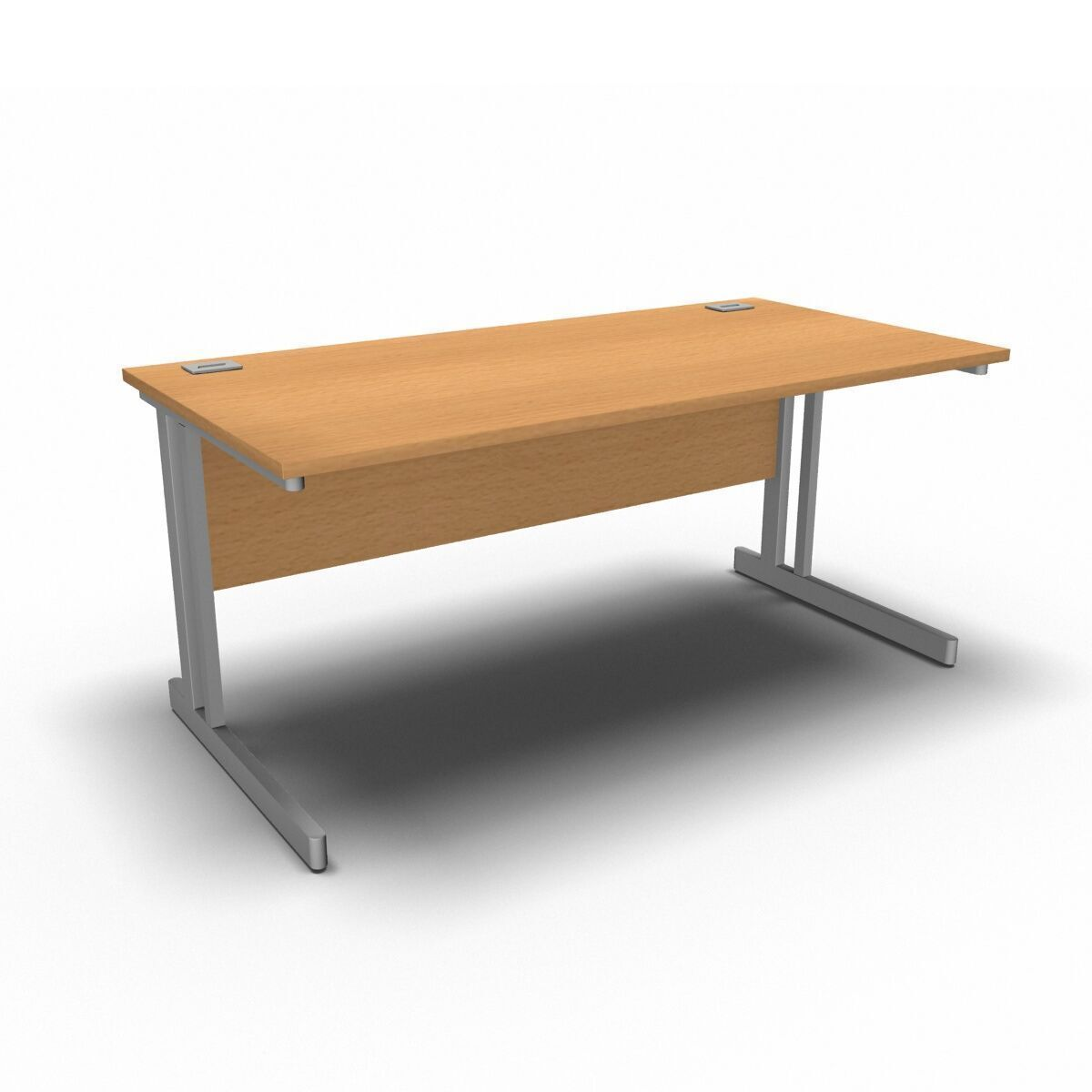 Desk 1600 x 800mm / Beech Synergy Straight Desks