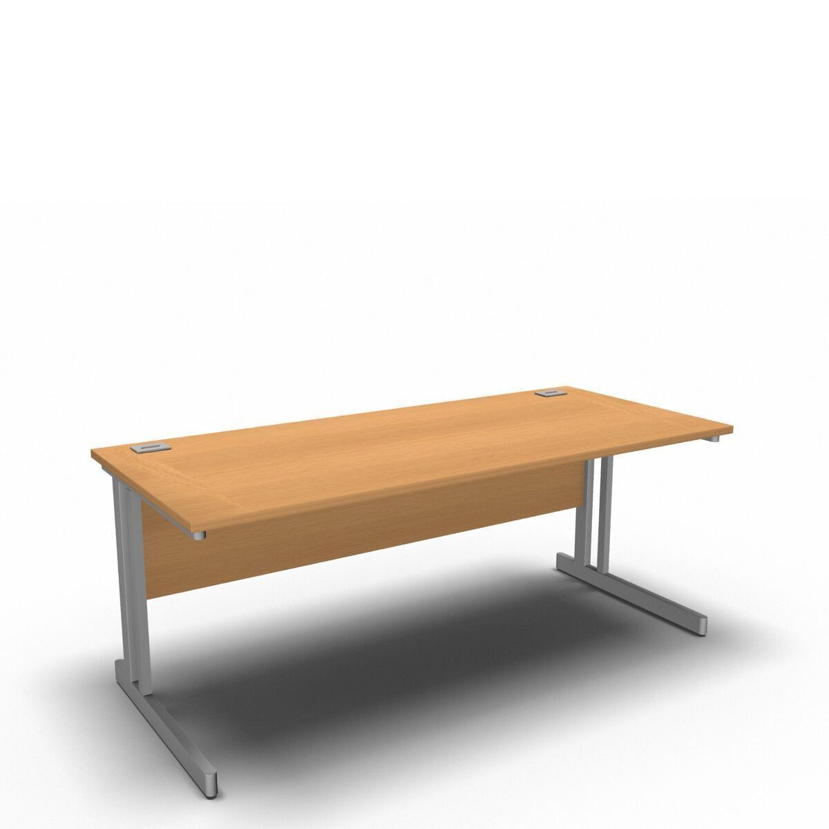 Desk 1800 x 800mm / Beech Synergy Straight Desks