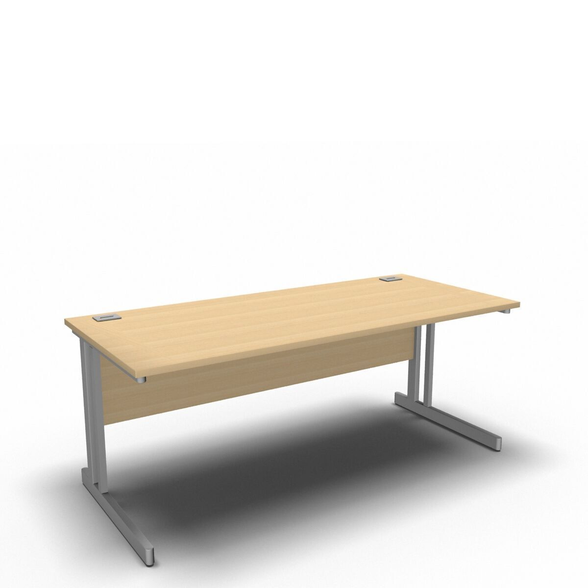 Desk 1800 x 800mm / Maple Synergy Straight Desks