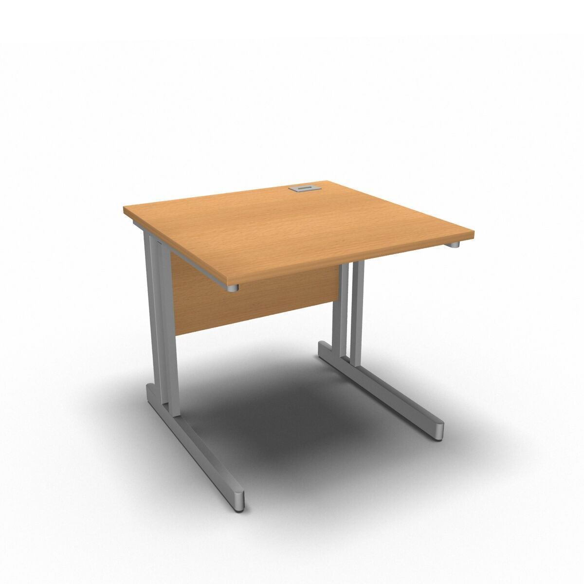 Desk 800 x 800mm / Beech Synergy Straight Desks