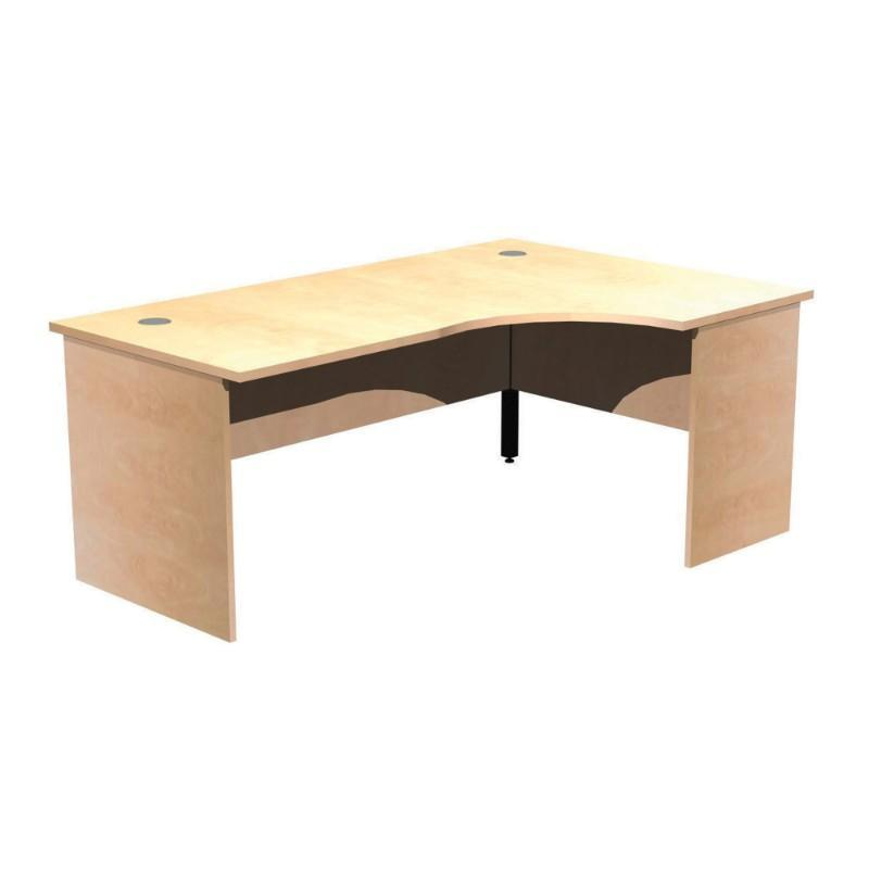 desk Alpine Wave Workstations, Panel Leg