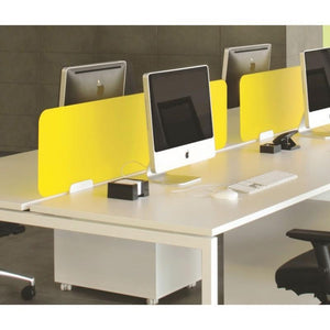 desk screen Nova Perspex Unframed Bench Desk Screens