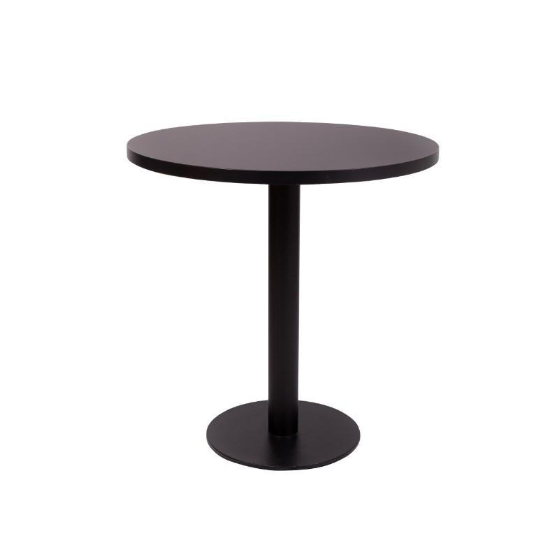 Carafe Round Black Base Dining Table