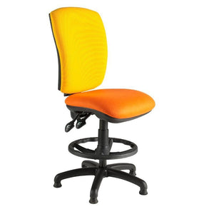 Hurley Squared Back Draughtsman Chair