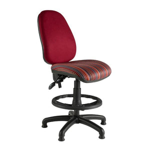Draughtsman Chair No Arms / Standard / Black Marlow High Back Draughtsman Chair No Arms / Standard / Black