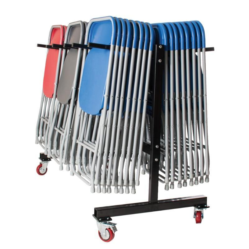 exam chair trolley Spaceforme Zlite Hanging 60 Chair Storage Trolley