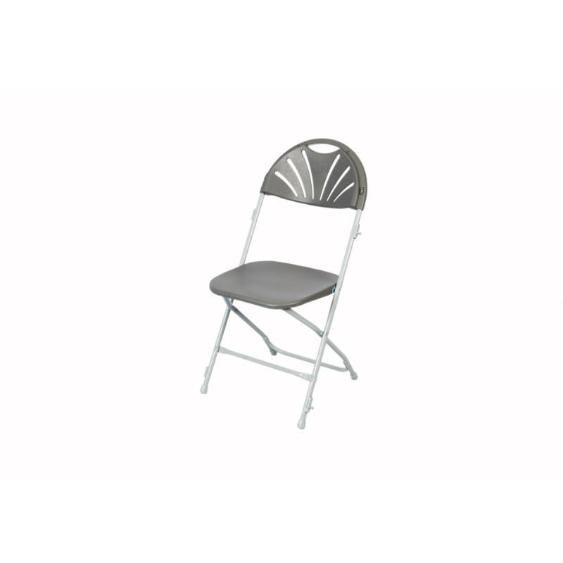 exam chairs Spaceforme Zlite Fan Back Folding Chair