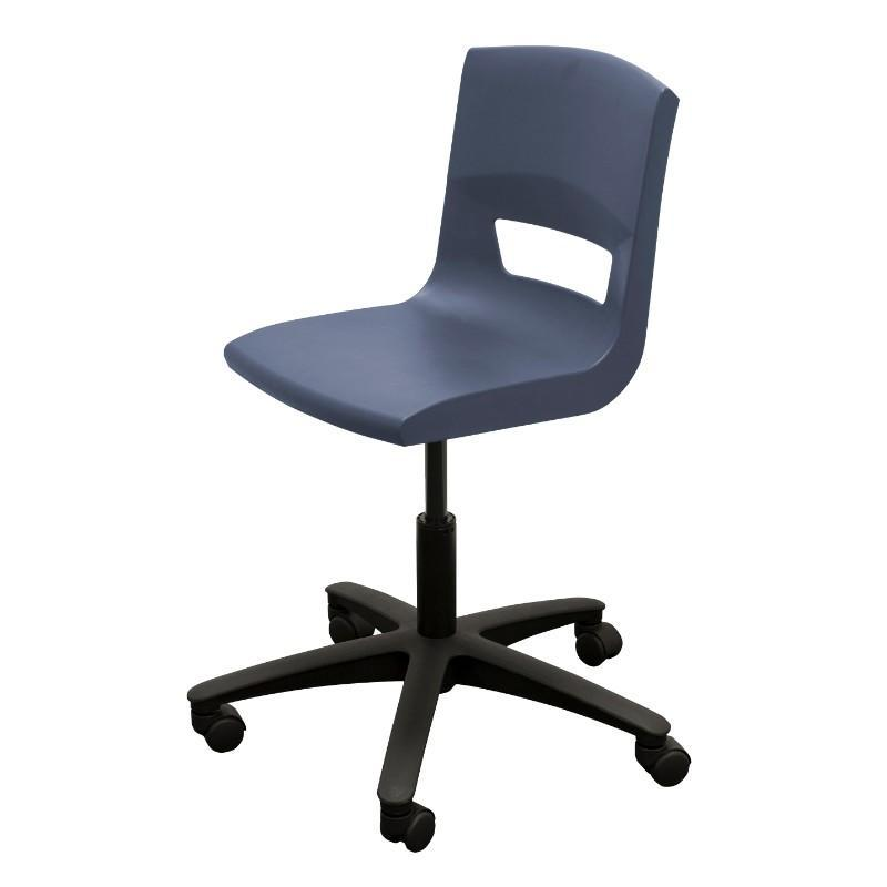 it chairs Black Nylon Base KI Postura Plus Task Chair Black Nylon Base