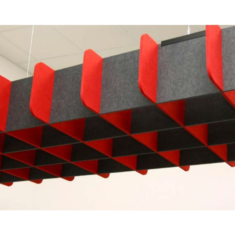 Grid Acoustic Ceiling Lattices