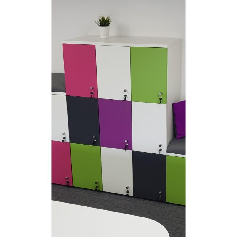 Lockers 1 door high (550mm) MFC Personal Lockers 1 door high (550mm)