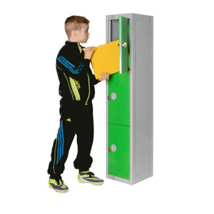 Lockers 1 / Size 1 - 300w x 300d x 1370h / Single Low Height Dura lockers 1 / Size 1 - 300w x 300d x 1370h / Single