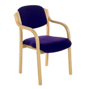 Meeting Chair Arms Bray Wood Frame Meeting Chair Arms