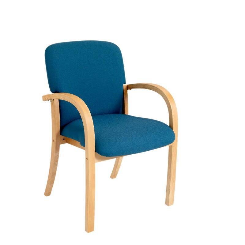 Meeting Chair Buscot Wood Frame Meeting Chair
