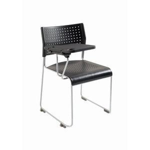 Meeting Chair Side Chair with Tablet Royston Sled Frame Chair