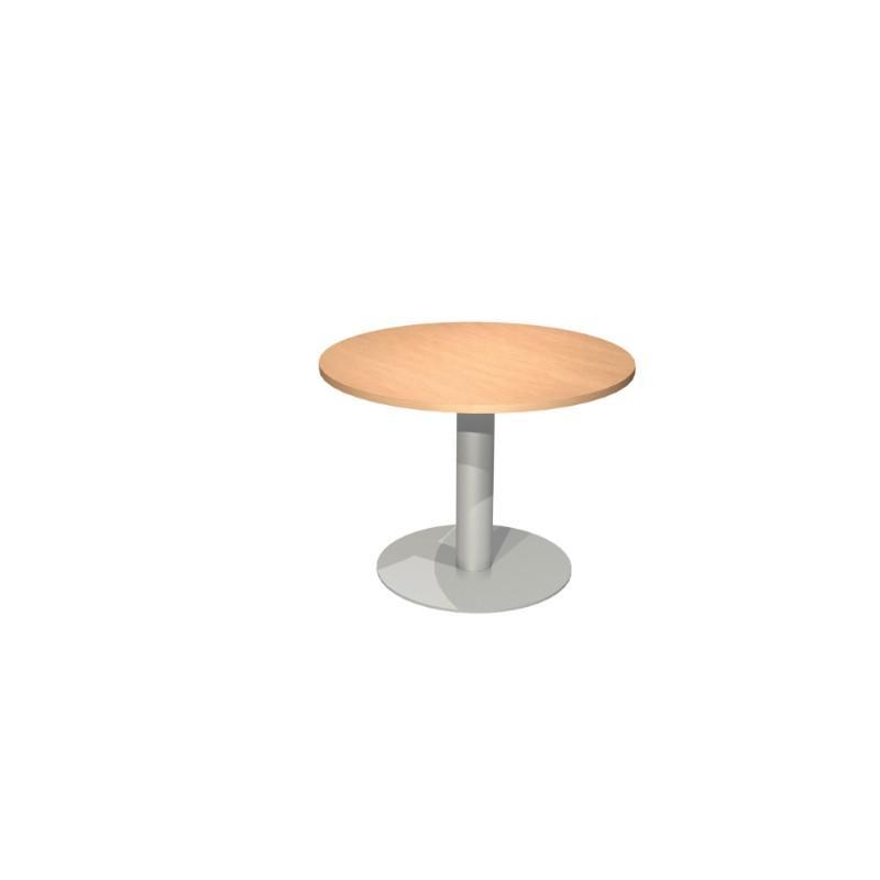 Meeting Table Alpine Round Meeting Table With Pedestal Base