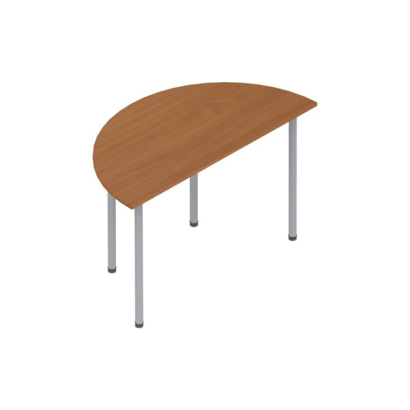 Meeting Table Colorado Pole Leg Semi-Circular Tables