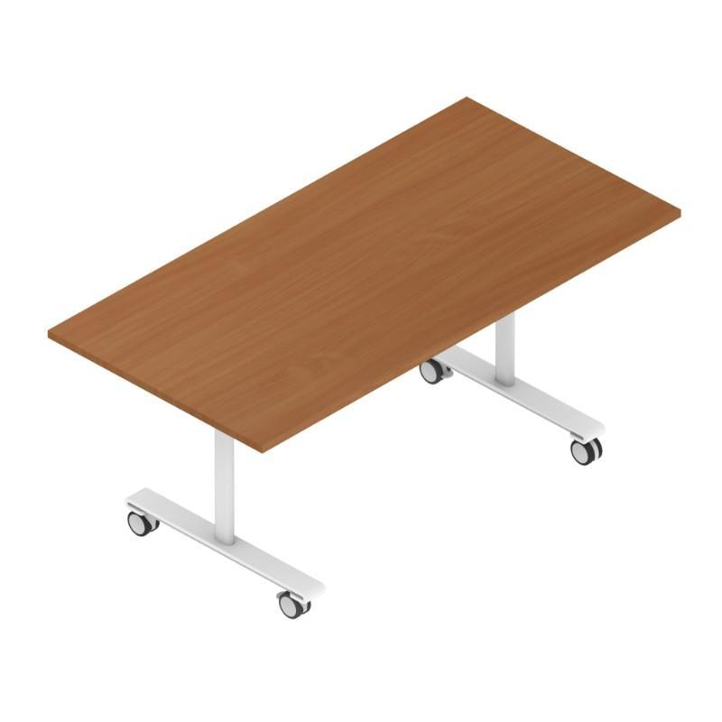 Meeting Table Colorado Rectangular Tilt Top Tables, 800mm Deep