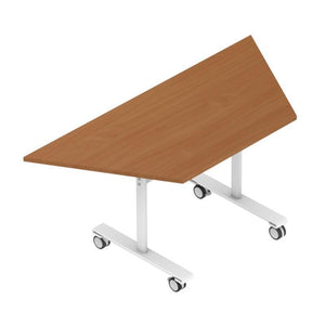 Meeting Table w1600 x d800 x h727 mm Colorado Trapezoidal Tilt Top Tables w1600 x d800 x h727 mm