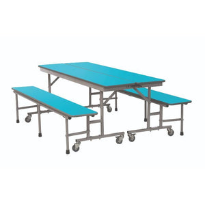 mobile folding tables Sico Convertible Bench Units