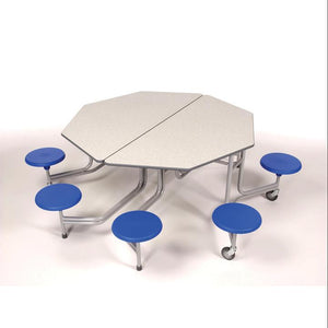 mobile folding tables Sico Octagonal Tables With Surround Seating