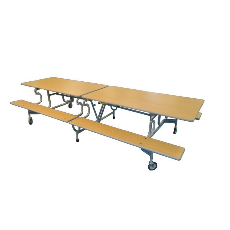 mobile folding tables Sico Rectangular Folding BY Bench Units