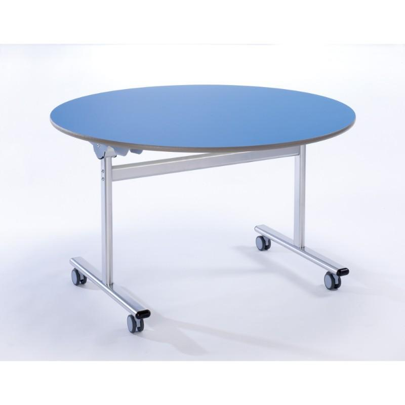 mobile tilt top tables Optimum Circular Tilt Top Dining Tables