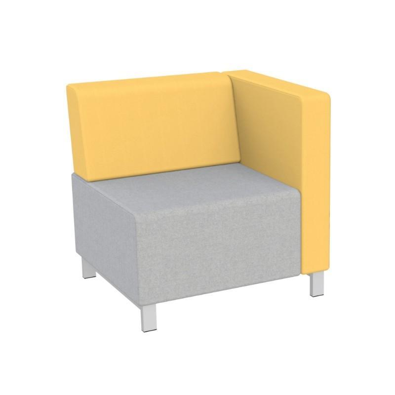 Modular Seating Single Unit w/Back & Left Arm (as seated) Stanza Seating Single Unit w/Back & Left Arm (as seated)