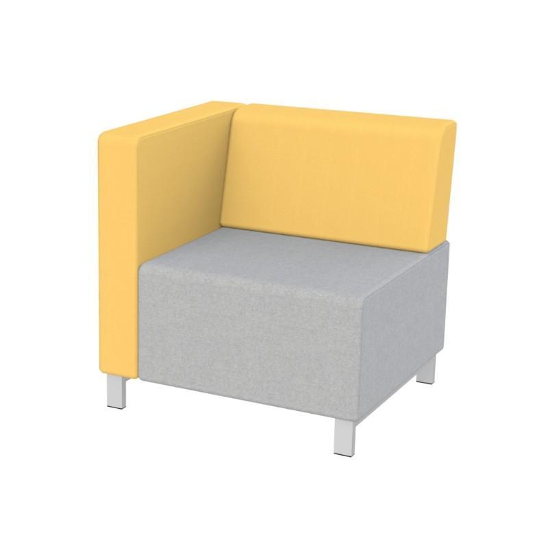 Modular Seating Single Unit w/Back & Right Arm (as seated) Stanza Seating Single Unit w/Back & Right Arm (as seated)