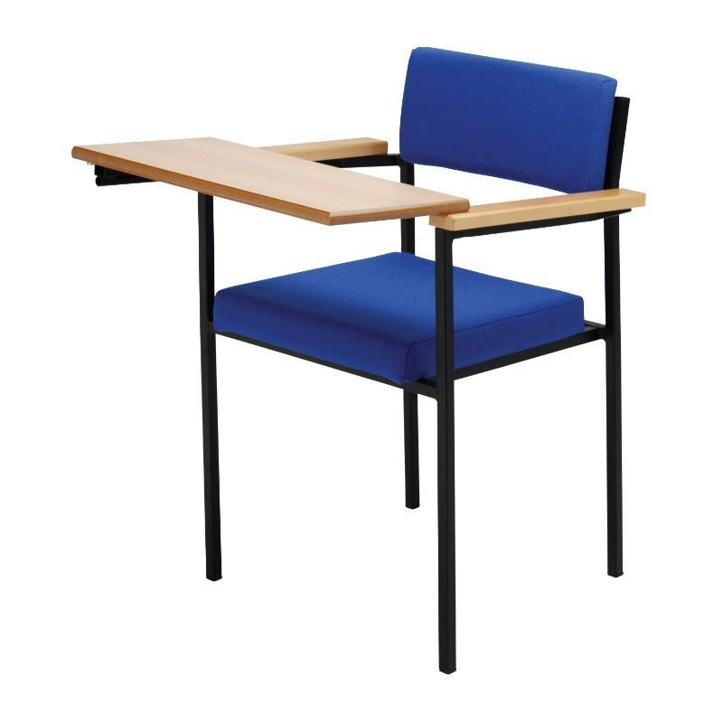 multipurpose chair Chair with Arms & Tablet Suffolk Stacking Chair Chair with Arms & Tablet