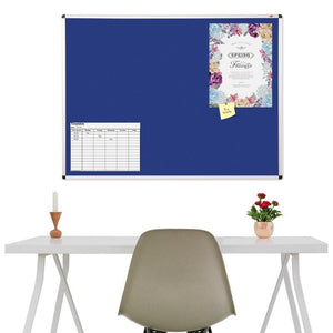 noticeboards h600 x w450mm Aluminium Framed Noticeboards h600 x w450mm