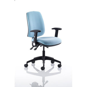 operator chair Black Height Adjustable Arms / Black Nylon Spider Base / Standard 3D Operators Chair Black Height Adjustable Arms / Black Nylon Spider Base / Standard