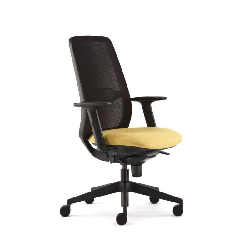 Operator Chair Black / Height Adjustable Arms Echo Operator Chair Black / Height Adjustable Arms
