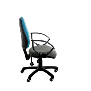Operator Chair Fixed Arms / Standard / Black Abingdon Medium Back Operator Chair Fixed Arms / Standard / Black
