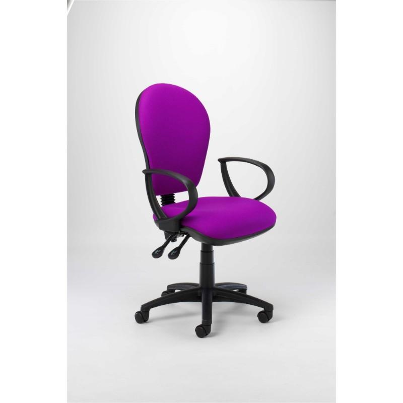 operator chair Fixed Arms / Standard / Black Orbit Operator Chair Fixed Arms / Standard / Black